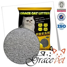 Grace Pet Lemon Flavor Bentonite Purple Cat Litter