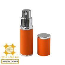 Wholesale Passionate Orange Imitation Leather refill perfume dispenser