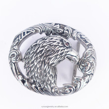 2015 Hot selling custom stainless steel eagle buckle