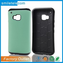 Stand Case Smart Cover Polka Dots Case For HTC One M9