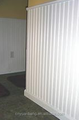 Tablero de la pared de la pared MDF preparada blanca MDF decoración de paredes