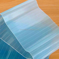 good quality and cheap PVC corrugated roofing sheet, Panels,