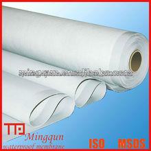 Membrana impermeable de PVC para techos
