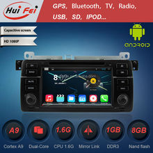 The newest android 4.4.4 HD car dvd player with GPS navigation wifi 3G usb OBD radio RDS for BMW 3 Series