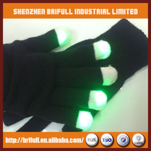 Light Up LED Gloves with 6 Color Modes