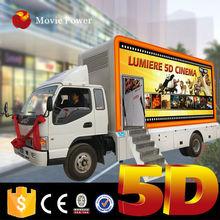 Saudi Arabia theme park 5d truck mobile cinema