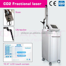 Painless High Power Co2 Fractional Laser Machine for Remove Surgical Scars AC 110V 60HZ