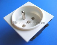 Voltage Regulator French Electrical 250V Industrial Plug Socket with CE