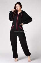 Comércio garantia de fornecedor maravilha mulheres plus size moda adultos jumpsuit costume pajama