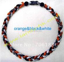 Healthy Tornado Ionic Titanium Necklace & Bracelet,titanium necklace and bracelet set