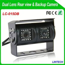 China supplier dual lens reverse car camera for renault megane for trucks