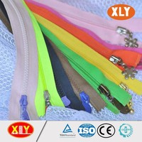 Good quality and cheap price open end SBS vislon zipper