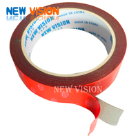 Single packing wholesales for connection christmas decoration tape double sided car plate tape