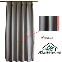 Blackout Curtains- Relief embossing pattern hotel curtains