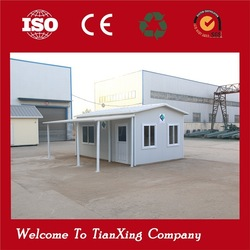 portable container/ portable cabins concrete sandwich panel prefab house