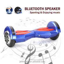 One year warranty bluetooth speaker smart self balancing scooter with Samsung LG battery