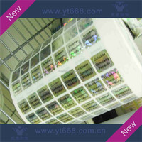 Anti-counterfeiting security peel off rolled hologram label
