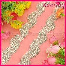 Bridal Accessories Crystal Trim for Wedding WRA-700
