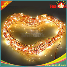 Yellow LED Christmas Wedding Decorate Party String Light 10mx100led