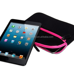factory price neoprene tablet case fit for Ipad Mini 7.9inch