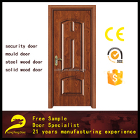cheap exterior American rosewood door steel