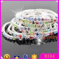 Fashion new women crystal bracelet colorful stretch ladies bracelets designs for beautiful girls cute