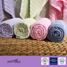 Best Sale Turkish Towel 100% Bamboo Hotel Towel , Satin border hotel towel , HOTEL TOWEL WITH JACQUARD WOVEN LOGO