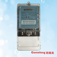 single phase two wire low cost power meter electric sub hour meter