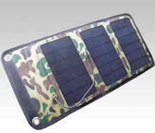 المنتجات الجديدة المحمولة ماء الألواح الشمسية شاحن السفر الذكية للهاتف موبيل