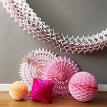 Tissue Paper Hanging Decorations Decadent Honeycomb Party Decor Kit