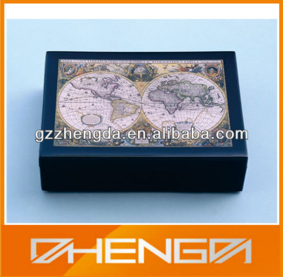 Guangzhou factory customized made-in-china wooden chest of spice box(ZDW-072)