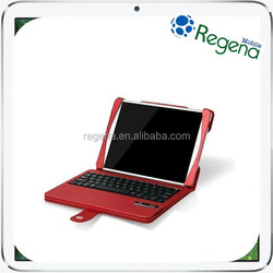 New Arrivals Removable Detachable Wireless Bluetooth ABS Keyboard for iPad Air PU Leather Case
