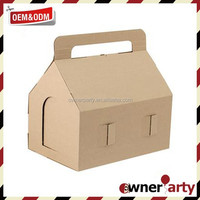 Hot-Selling Craft Paper House Shape Box