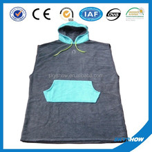 China new design popular holiday towel poncho