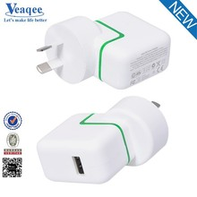 Veaqee Mobile Phone USB Wall Charger for Samsung Galaxy S5