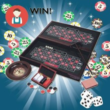High Quality 4 in 1 Wooden Casino Game