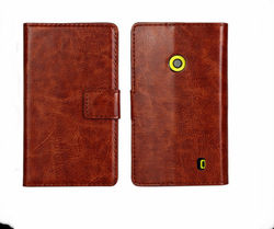 Online wholesale alibaba china flip leather case cover for nokia lumia 520 shockproof case