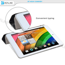 Ultra slim colorful fashion case for acer a1, flip leather stand cover for acer a1