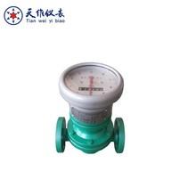 Mechanical diesel pitch oval gear oil pipe flow meter