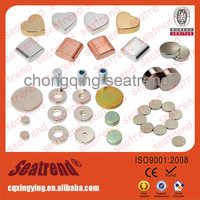 High quality n32-n52 strong rare earth small colored magnet