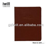 factory make plastic hard back cover leather surface case for ipad 2/3/4