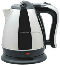 Commercial 1.5L red cordless travel electric kettle
