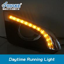 SMRKE car styling led daytime running light for chevrolet captiva 2014-2015 with yellow signal