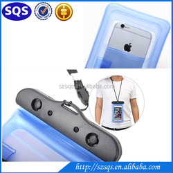 Hot Sale new arrival IPX8 pvc universal mobile waterproof phone bag for cell phone