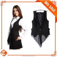 C00028D Big Price Fashion Designs Korean Style Cotton Ladies Waistcoats