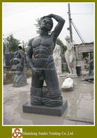 erotic nude man marble statue