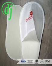 White personalized disposable daniel green slippers /green slippers