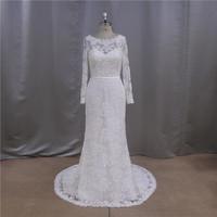 full lace crochet suzhou ykk zipper wedding dress designer
