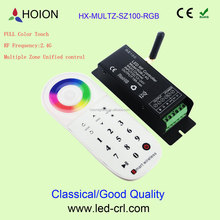 DC12~24V 2.4G Multiple zone led Controller smart home led controller LED RGB touch controller 6A*3CH 216W432W 433MHZ