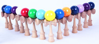 2015 High Quality Kendama, 18cm, PU Glossy Paint for wholesale, Colorful Wooden Toy, Skill Toy, EN71 & ASTM F 963 Certified
